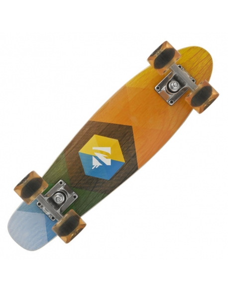 Skateboard Choke Juicy Woody Hexagon