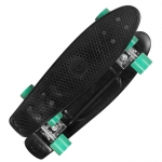 Skateboard Playlife Vinyl Black