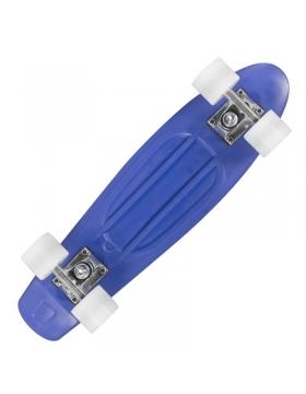 Skateboard Playlife Vinyl Blue