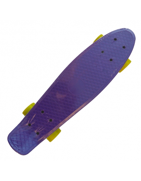 Skateboard Action Purple