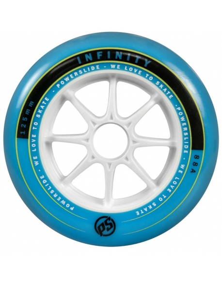 Roti Powerslide Infinity 125mm/88A Blue