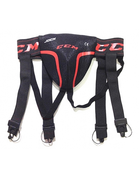 Suspensor/Jartiere Hockey CCM Jockstrap Combo Youth