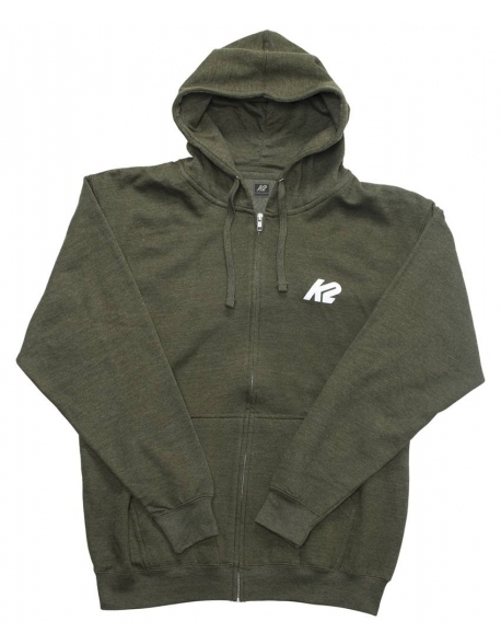 Hanorac K2 Hooded Zip Keiner Olive