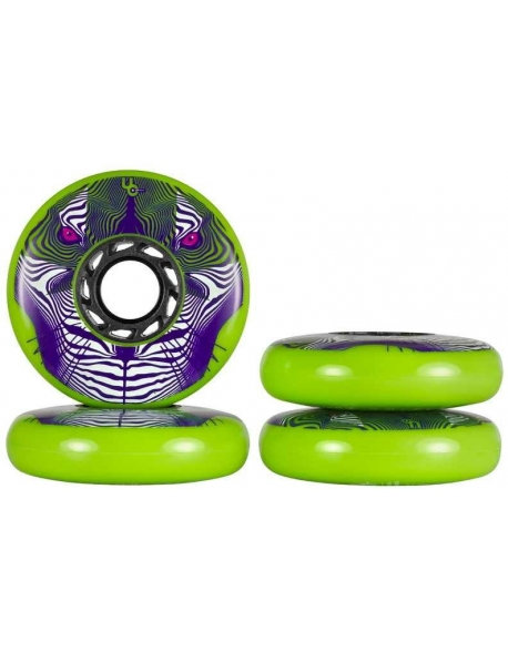 Roti Undercover FSK/Powerblading Tiger Full Radius 80mm/86A Green