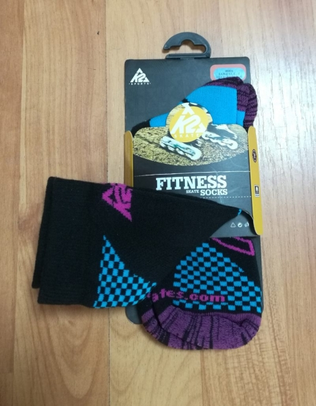 Sosete Role K2 Fitness Black/Turquoise/Pink
