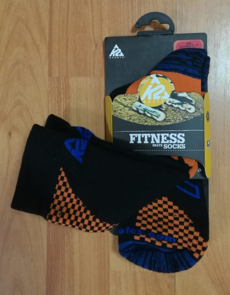 Sosete Role K2 Fitness Black/Orange/Royal