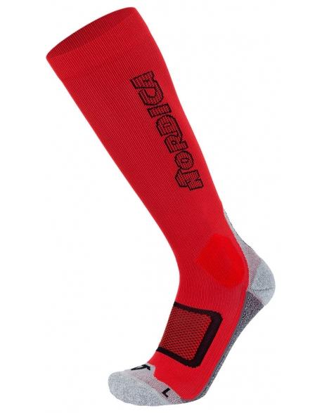 Sosete Nordica Speed Machine Pro Red/Black