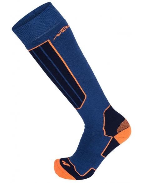 Sosete Nordica All Mountain Comfort Blue/Neon Orange