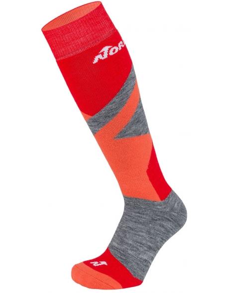 Sosete Nordica Multisport Winter Jr Red/Neon Orange/Mid Grey Mel