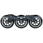 Set Sina+Roti Powerslide Megacruiser 125mm Black