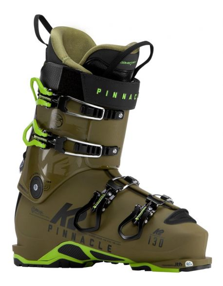 Clapari Freeride/Tura K2 Pinnacle 130LV Green/Kaki