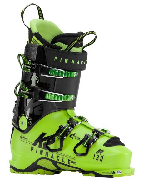 Clapari Freeride/Tura K2 Pinnacle Pro Lime/Black