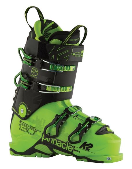 Clapari Freeride/Tura K2 Pinnacle Pro Green/Black