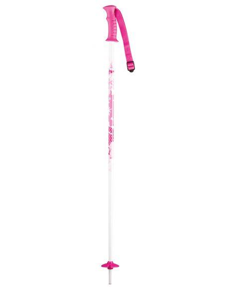 Bete Schi copii K2 Charm White/Pink
