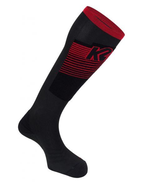 Sosete K2 Mountain Performance Black/Red