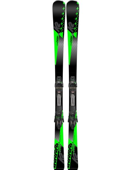 Schiuri Carving K2 Turbo Charger Black - Neon Green