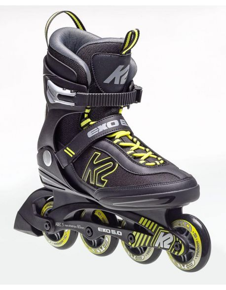 Role K2 Exo 6.0 Men Black-Yellow