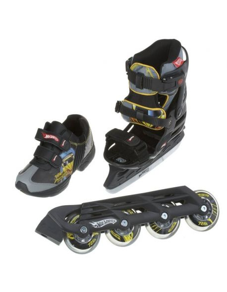 Role-Patine Copii Powerslide Hot Wheels X-Blade 3 in 1