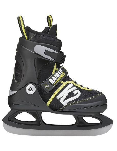 Patine Copii K2 Raider Ice Black-Yellow
