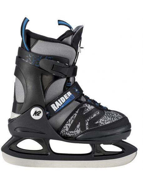 Patine Copii K2 Raider Ice Black-Grey-Blue