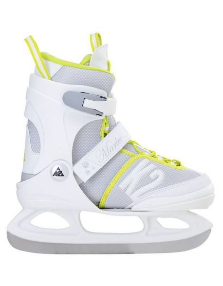 Patine Copii K2 Marlee Ice White-Neon-Green