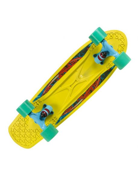 Skateboard Choke Spicy Sabrina Yellow-Blue