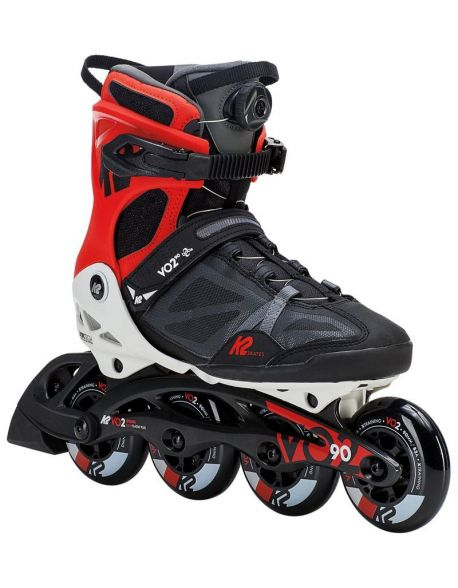 Role K2 VO2 90 Boa Men Black-Red