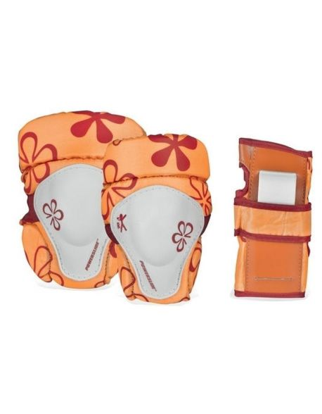 Set Protectii Copii Powerslide Decathlon Orange