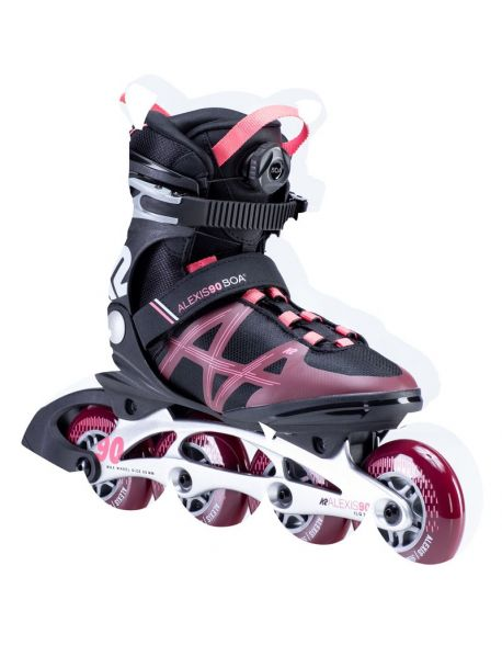 Role K2 Alexis 90 Boa Black-Red