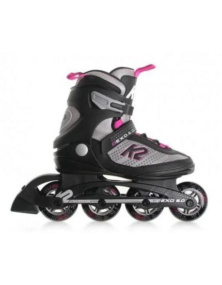 Role K2 Exo 6.0 Women Black-Pink
