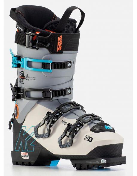 Clapari Freeride/Tura K2 Mindbender 120 Black-White
