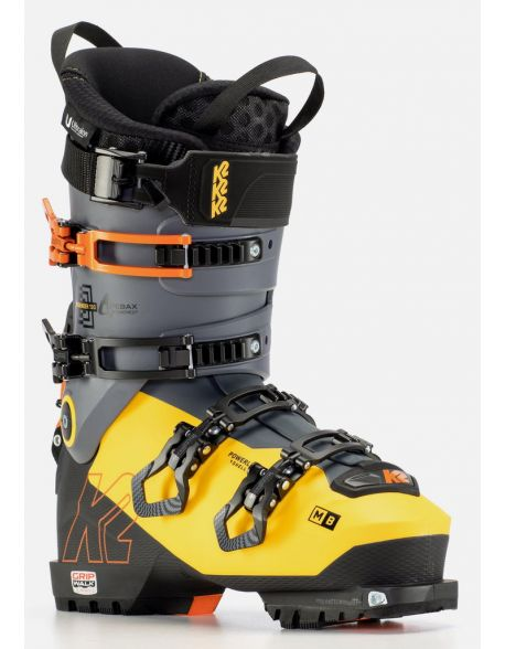 Clapari Freeride/Tura K2 Mindbender 130 Black-Yellow-Orange