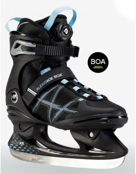 Patine K2 Alexis Ice Boa Black-Blue