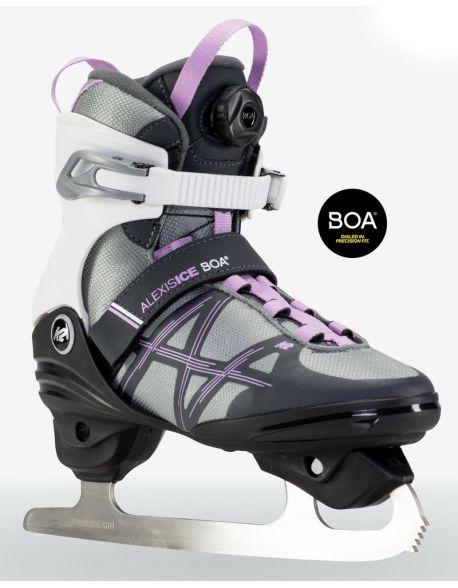 Patine K2 Alexis Ice Boa FB Black-Pink