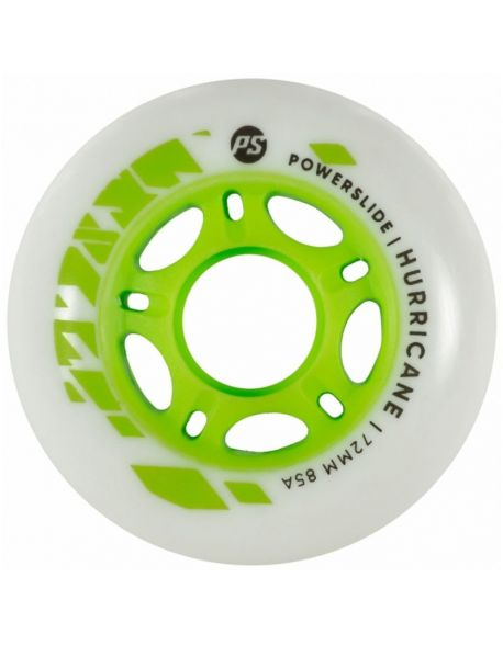 Roti Powerslide Hurricane White-Green 72mm/85A Vrac