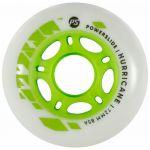 Roti Powerslide Hurricane White-Green 72mm/85A Vrac