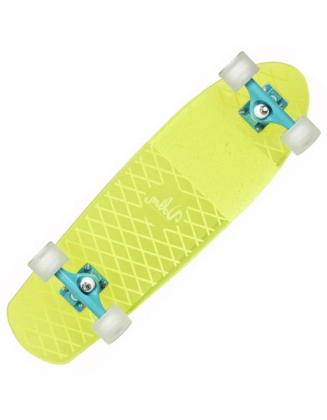 Skateboard Volten LB Clear Neon Yellow