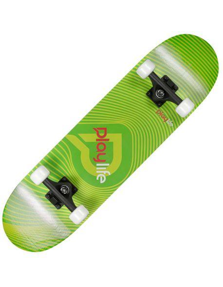 Skateboard Playlife Illusion Green