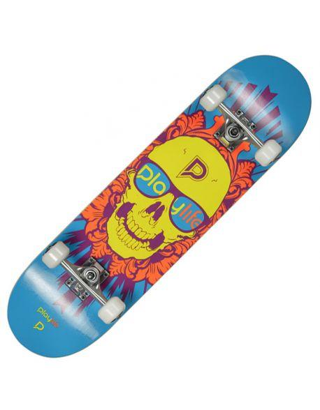 Skateboard Playlife Skullhead
