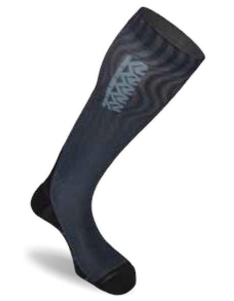 Sosete K2 Mindbender Black-Grey